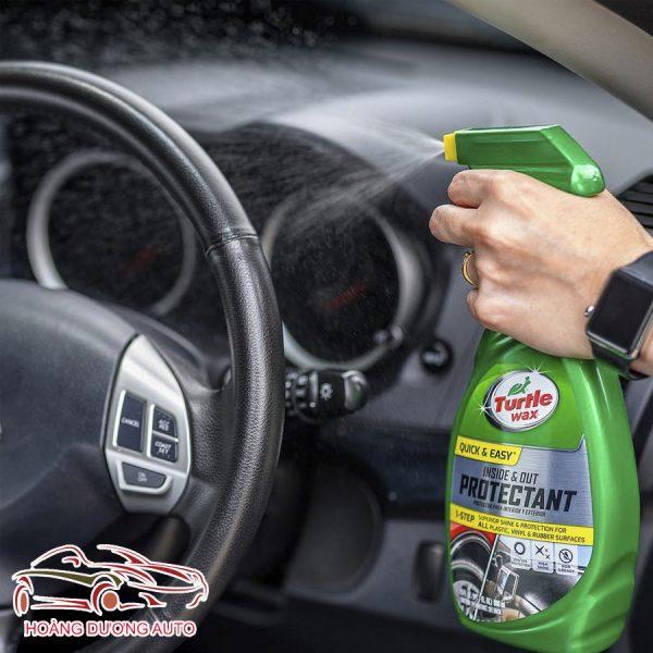 Khử mùi nội thất ô tô turle wã