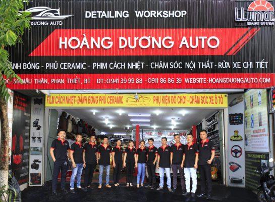 Hoàng Dương Auto - Trung tâm chăm sóc ô tô uy tín tại Phan Thiết