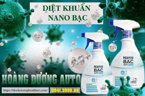 Diệt khuẩn Nano bạc
